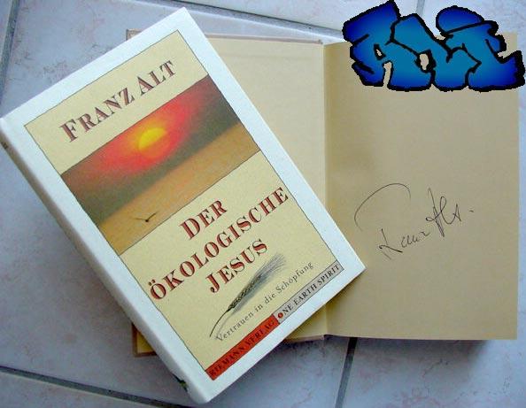 Signatur Franz Alt Jesus