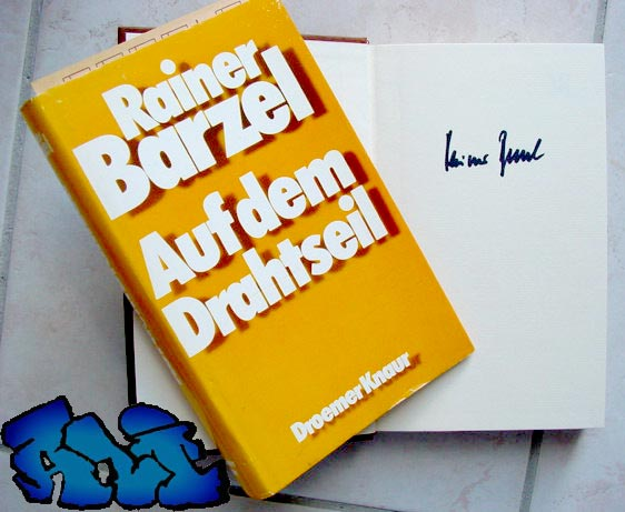 Signatur Rainer Barzel