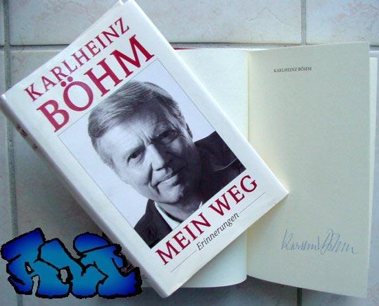 Signatur Karl Heinz Boehm