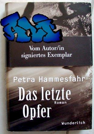Signatur und Datum (Köln, 23.10.02) Petra Hammesfahr