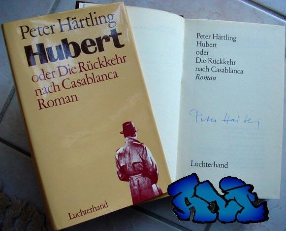 Signatur Peter Härtling