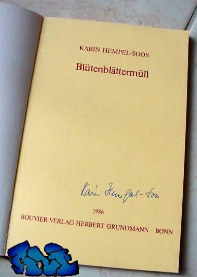 Signatur Karin Hempel-Soos