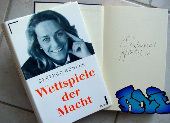 Signatur Gertrud Höhler