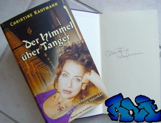 Signatur Christine Kaufmann