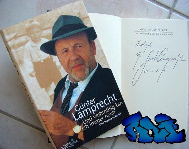 Signatur Günter Lamprecht
