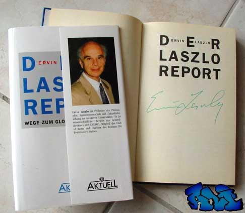 Signatur Ervin Laszlo