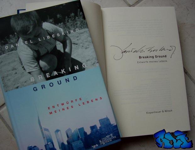 Signatur Daniel Libeskind