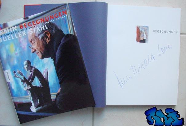 Signatur Armin Mueller-Stahl