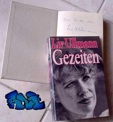 Signatur Liv Ullmann - Gezeiten