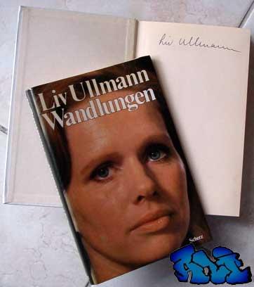 Signatur Liv Ullmann - Wandlungen